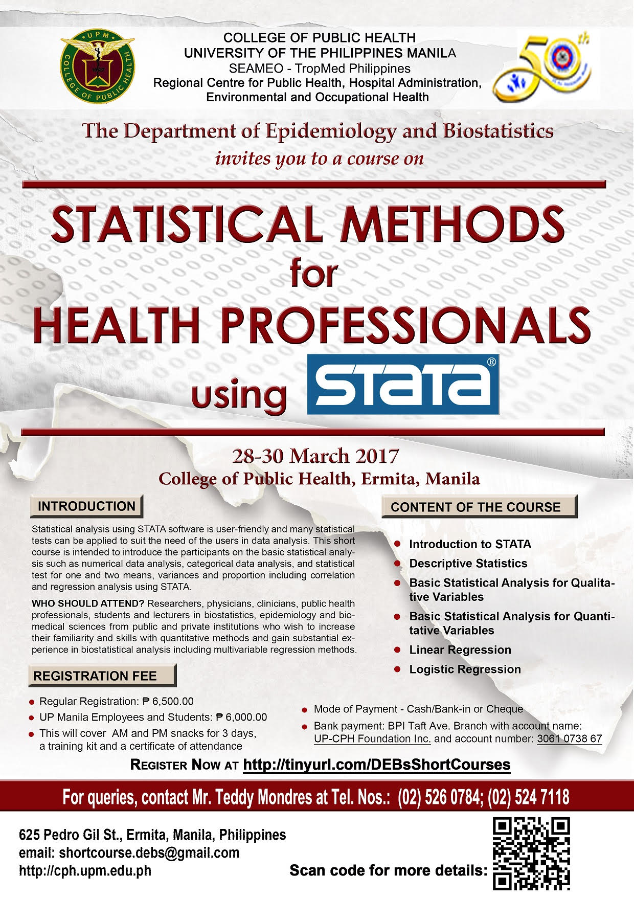 And Research Methods On April 25 27 2017 Click Here For More Information